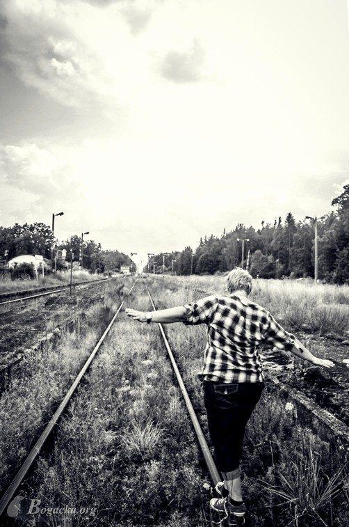 Wspomnienia roku 2014: Chruściel – zapomniana stacja kolejowa – a forgotten railway station